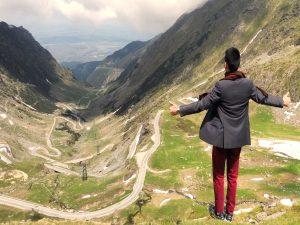 view over transfagarasan road part oft he transylvania story tour