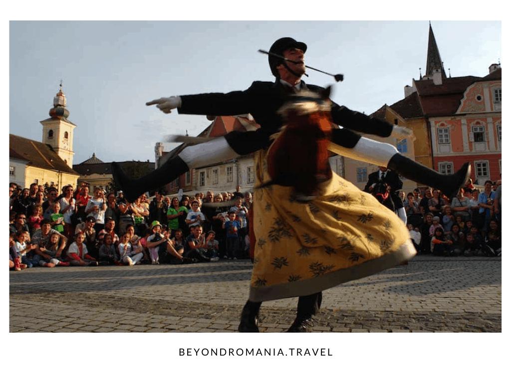 Sibiu Romania Traditional Dance