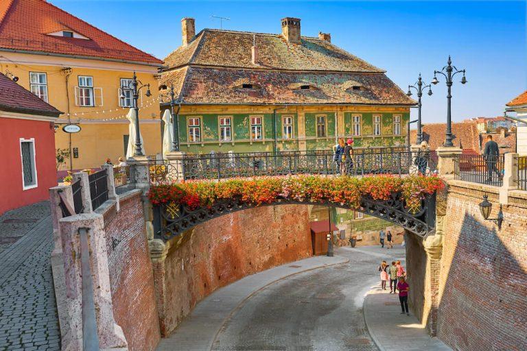 The bridge of Lies things to do in Sibiu city